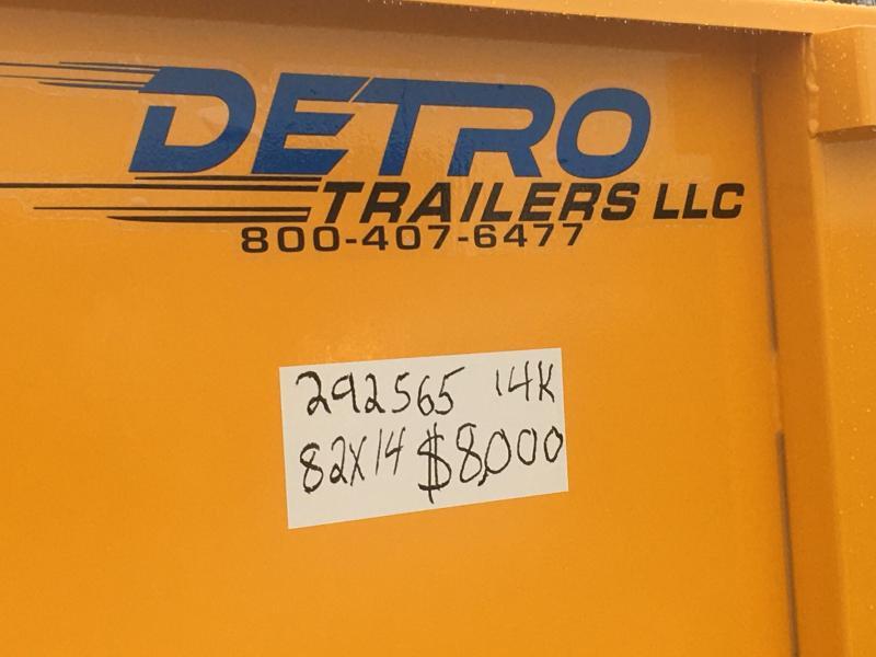 2020 Sure-Trac Const. Yellow 82X14 14K Telescopic Dump