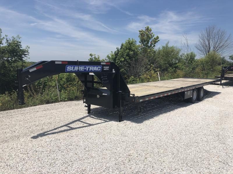 Used 2015 Sure-Trac 102X22+10 Hydraulic Dovetail