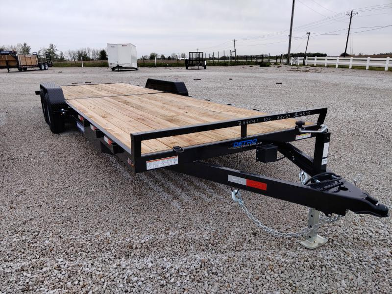 2020 Sure-Trac 7 X 24 Wood Deck Car Hauler  10K