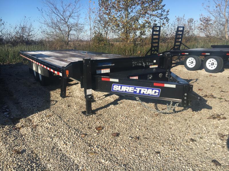 2019 Sure-Trac 102x22 Deckover Tilt Tandem BP 15K