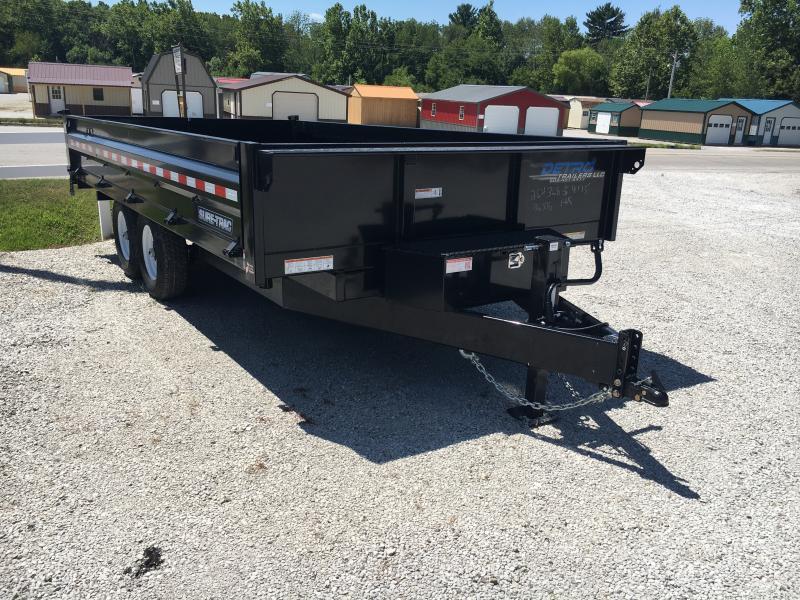2019 Sure-Trac 96 IN x 16 Deckover 14K Scissor Dump