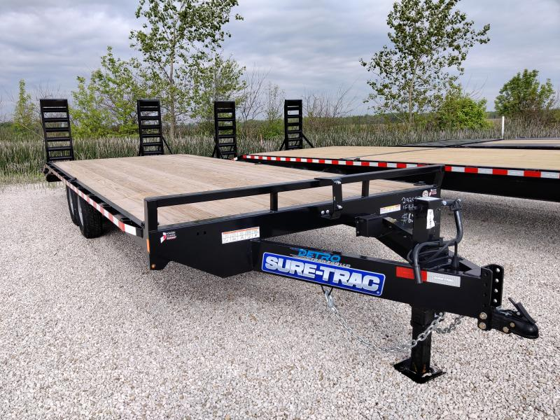 2020 Sure-Trac 8.5 X 20 Ft +4 Beavertail Standard Duty