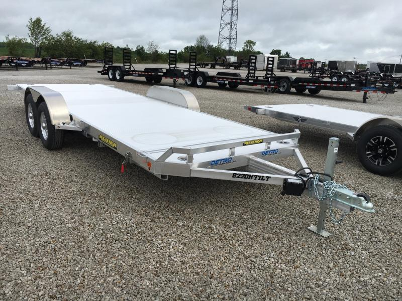 2019 Aluma 8220HTILT Car / Racing Trailer