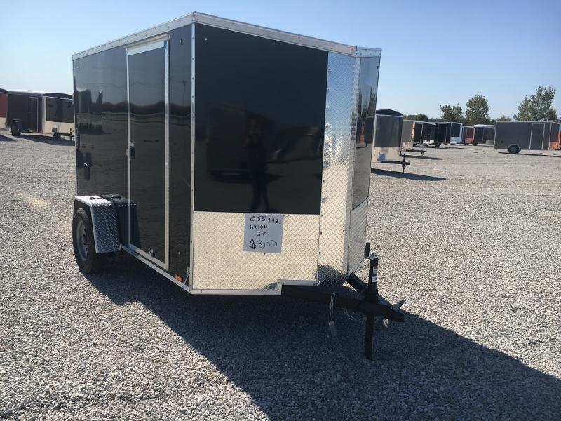 2020 Cargo Express 6X10 Enclosed Cargo Trailer