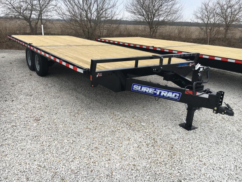 2020 Sure-Trac 8.5 X 22 Ft Standard Duty Flatbed Deckov
