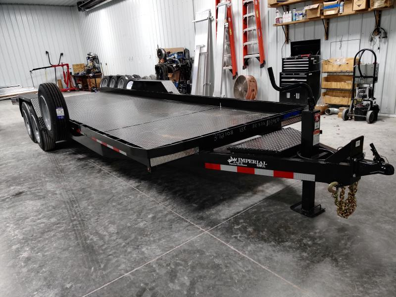2020 Imperial 22' Splitfloor Wideboy Equipment Trailer
