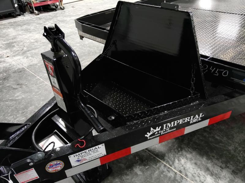 2020 Imperial 22' Splitfloor Wideboy Equipment Trailer