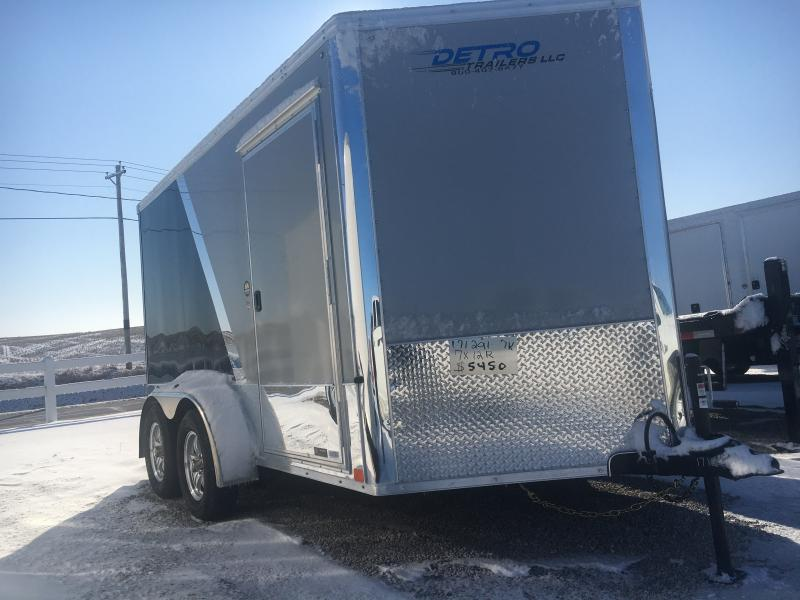 2020 United Trailers 7X12 Motorcycle Trailer