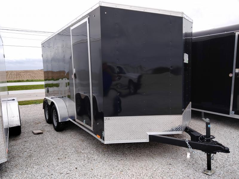 2021 Cargo Express 7X14 Enclosed Ramp Door TA Trailer
