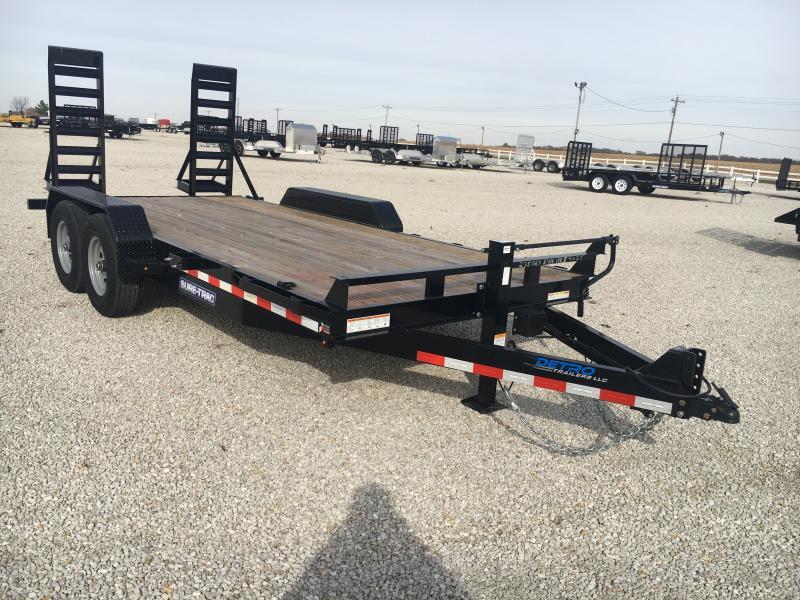 2020 Sure-Trac 7 x 16 Equipment Trailer  14K Flat Deck