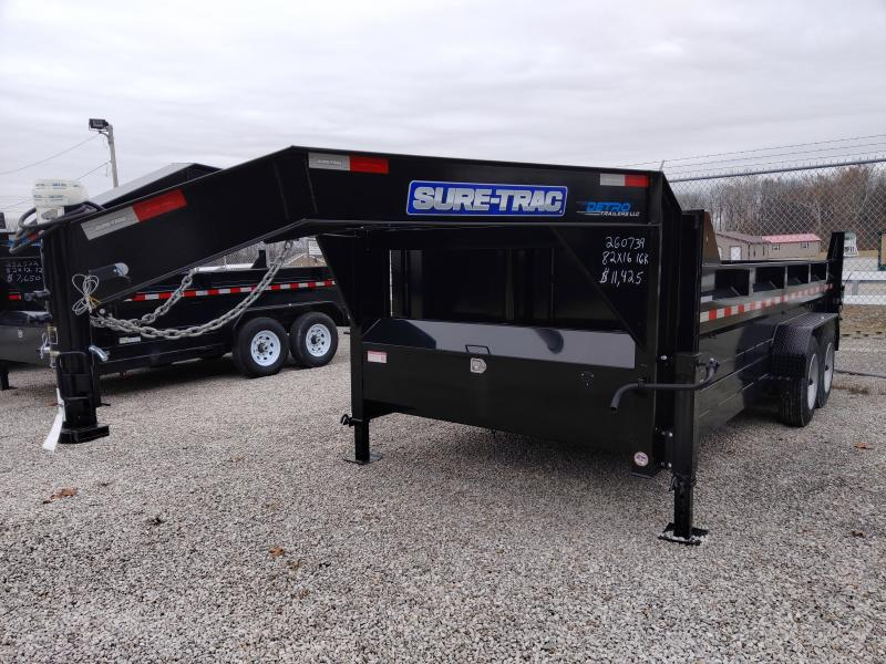 2019 Sure-Trac 82 IN X 16 LP 16K Goose Telescopic Dump
