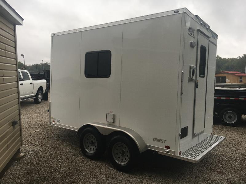 2019 ATC 7X12 FIBER OPTIC TRAILER Enclosed Cargo Trailer