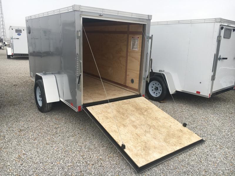 2019 United 5X10 Enclosed Ramp Door Trailer