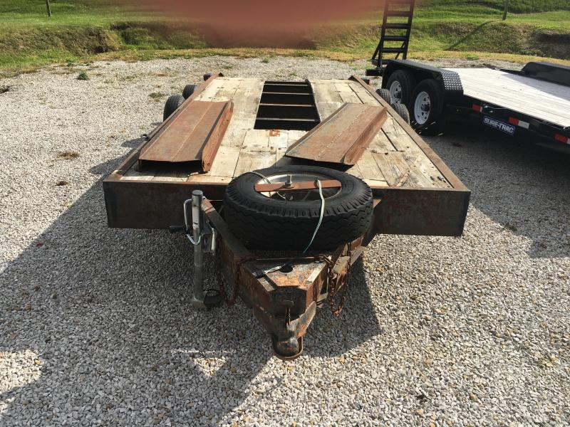 USED 2002 Other 6.5X18.5 Flatbed Trailer