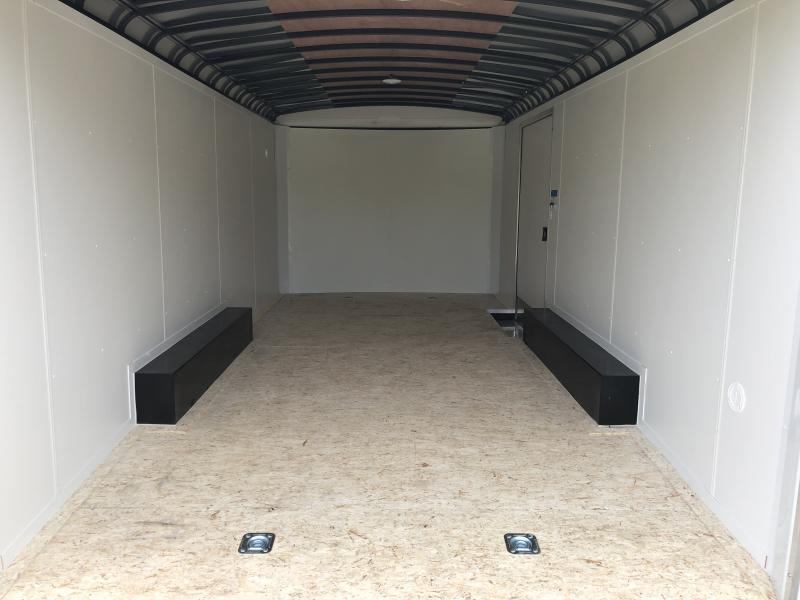 2020 Cargo Express Pro Auto Roundtop 7k Car / Racing Trailer
