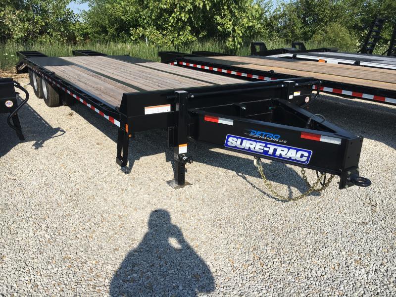 2019 Sure-Trac 8.5x20+5 LowPro Deckover Tandem BP 22.5K