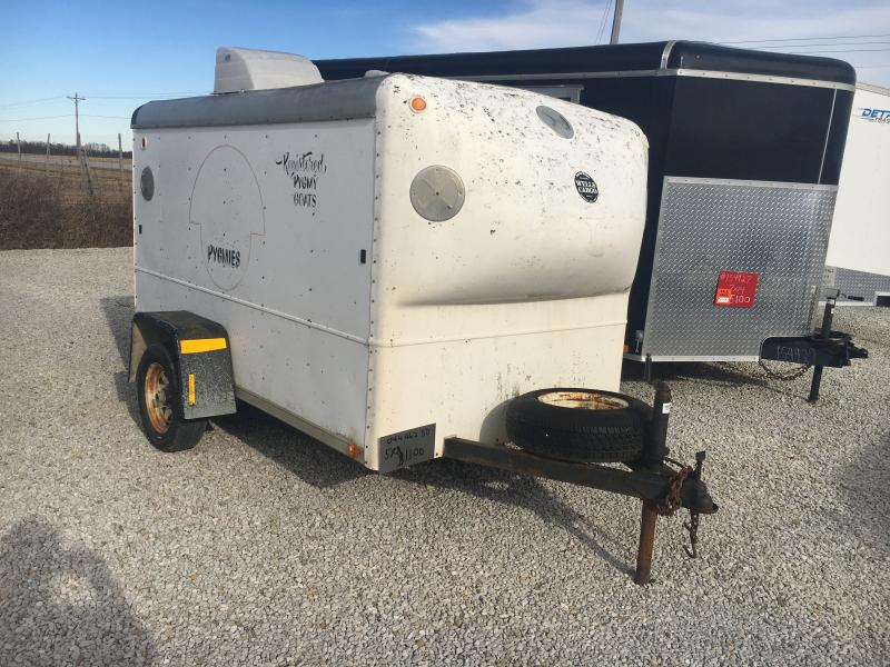 1988 Wells Cargo 5X8 ENCLOSED Enclosed Cargo Trailer