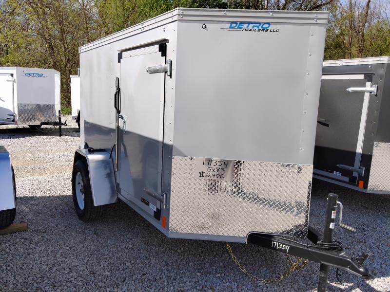 2020 United Trailers 5X8 Enclosed Cargo Trailer