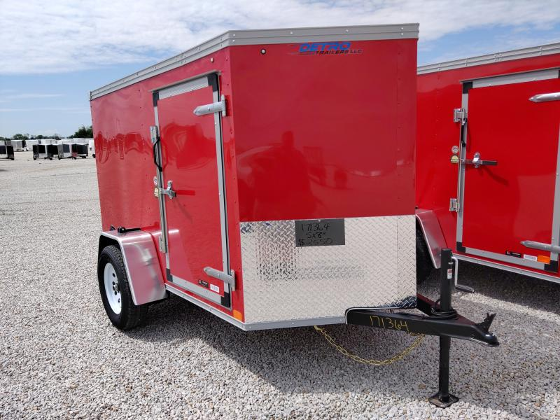 2021 Sure-Trac 5X8 Enclosed Ramp Door Trailer