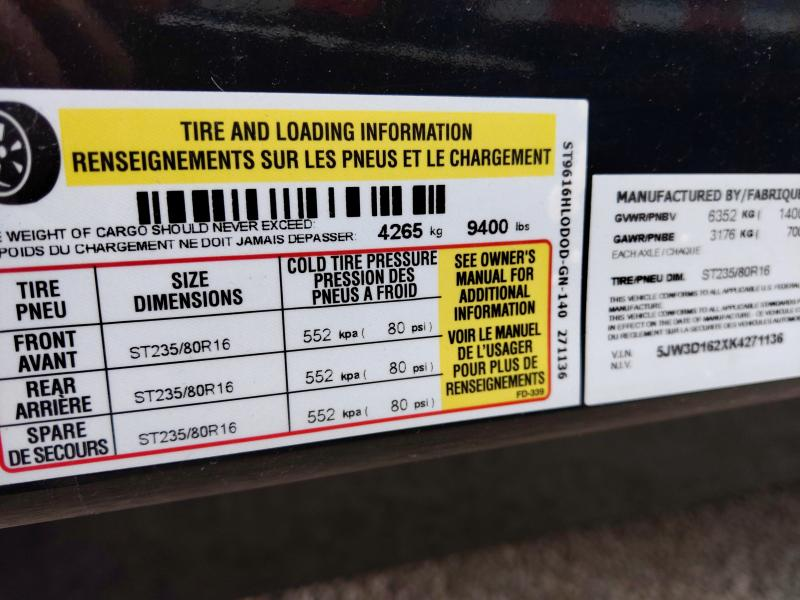 2019 Sure-Trac 96 INx16 DOD 14K Goose Scissor Dump
