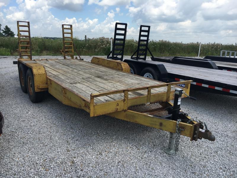 Used 1992 Other 16' Flatbed Trailer