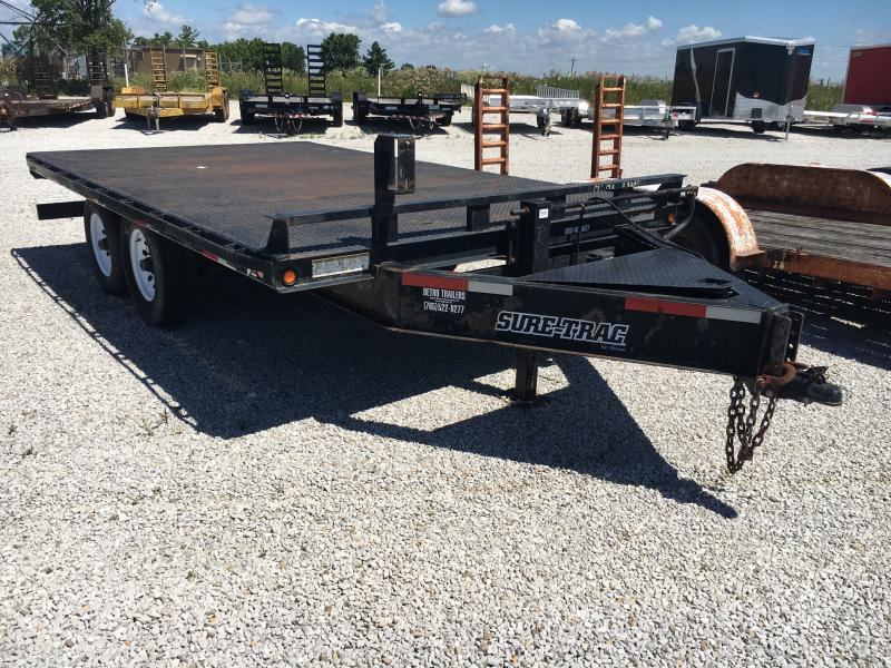 USED 2009 Sure-Trac 14' Equipment Trailer
