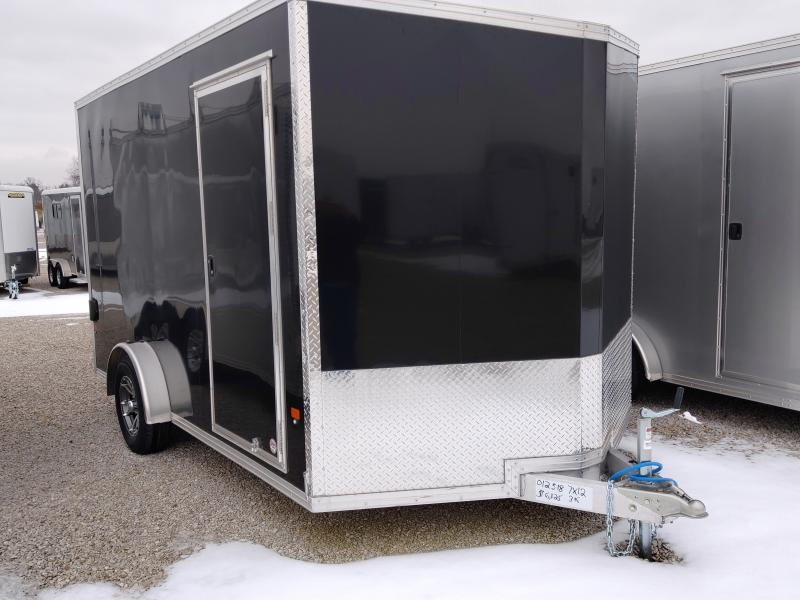 2019 EZ Hauler 7X12 Enclosed Cargo Trailer