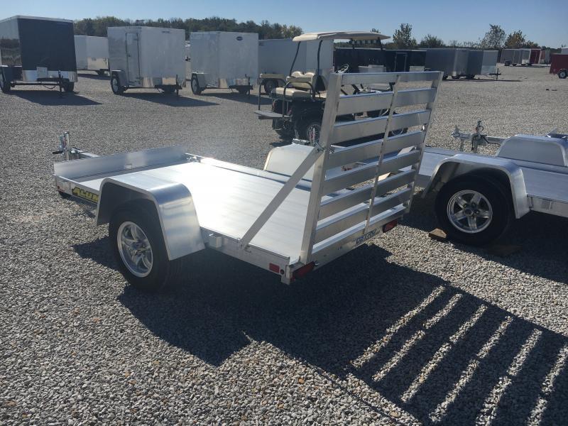 2020 Aluma 54X8 Straight Tailgate Utility Trailer