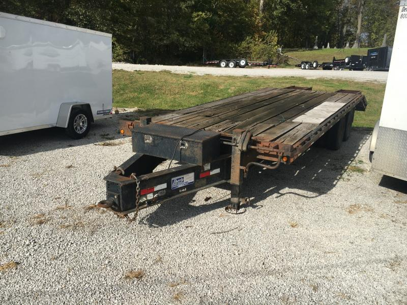 USED 2003 Liberty 20+5 Equipment Trailer