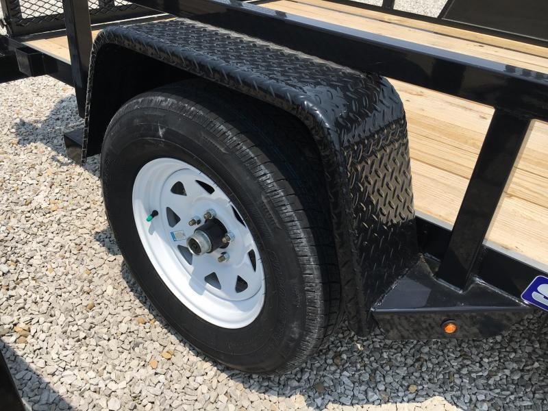 2019 Sure-Trac 6 X 10 Tube Top Utility 3k Idler
