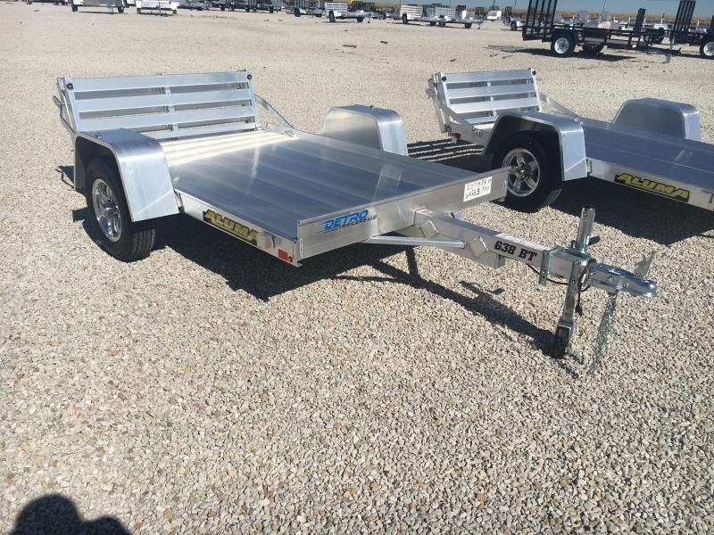 2020 Aluma 63X8 Bi-Fold Tailgate Utility Trailer