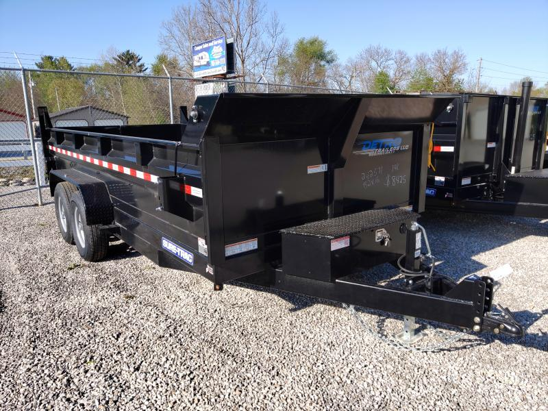 2020 Sure-Trac 82 IN X 16 LP 14K Scissor Dump