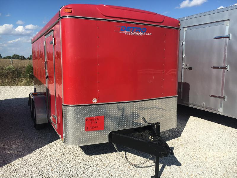 USED 2012 United Trailers UEH-714TA35-8.5-S Enclosed Cargo Trailer