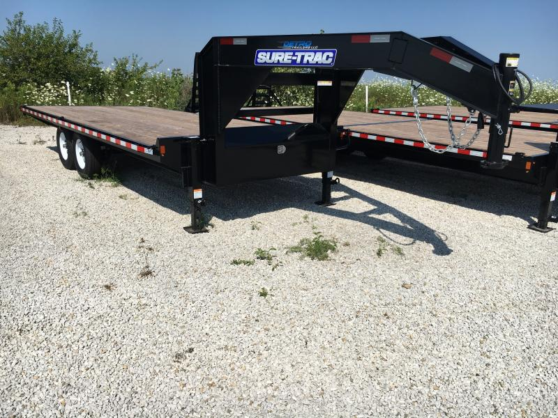 2019 Sure-Trac 8.5 X 20 Standard Duty Flatbed GN Dec