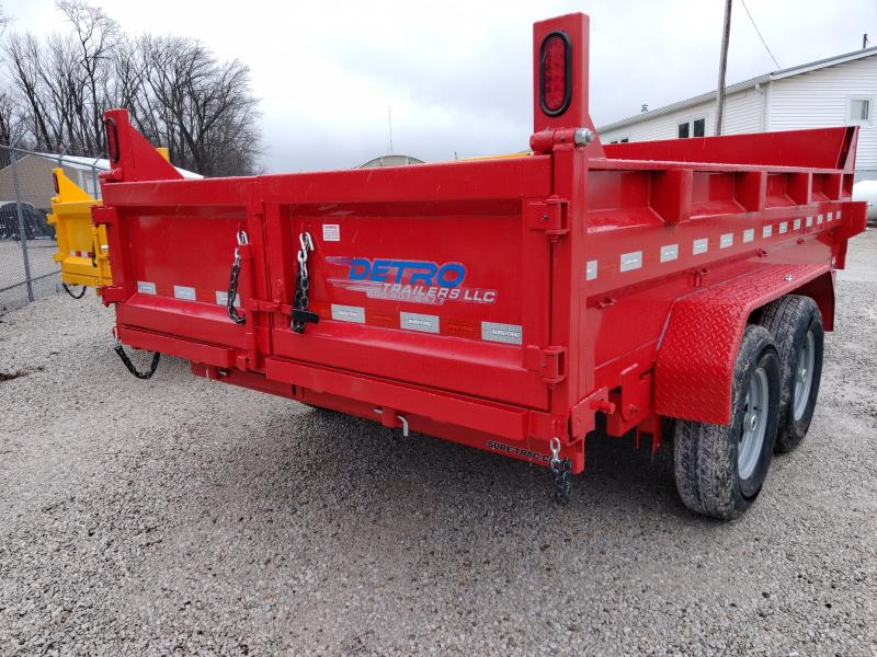 2020 Sure-Trac Red 82 X 14 14K Telescopic Dump