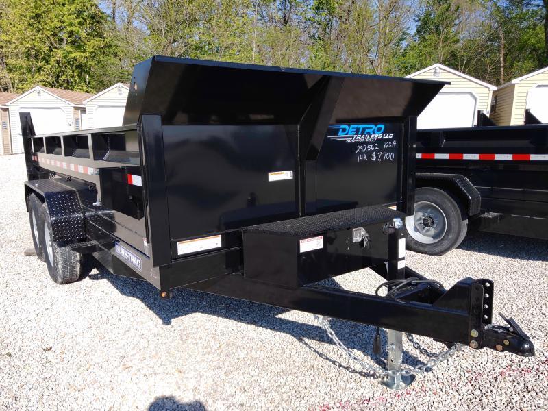 2020 Sure-Trac 82X14 14K Dump Trailer