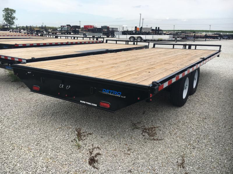 2019 Sure-Trac 8.5 X 20 Ft Standard Duty Flatbed Deckov