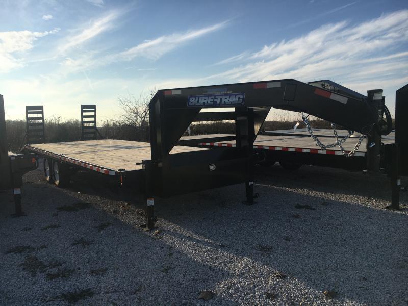 2019 Sure-Trac 8.5 X 22 Ft +4 Beavertail Standard Duty