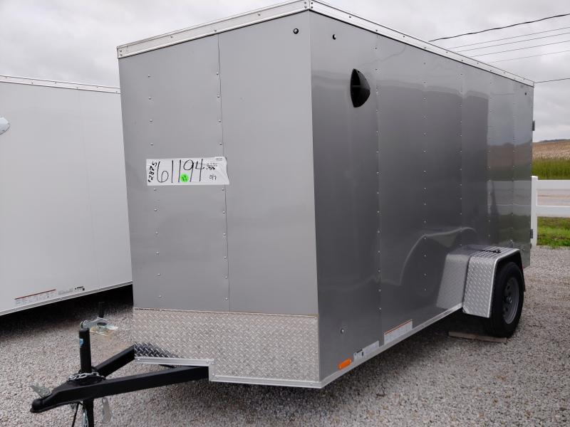 2021 Cargo Express 6X12 Enclosed DRD SA Trailer