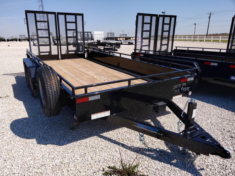 2020 Sure-Trac 7 x 16 Steel High Side  10K Tandem