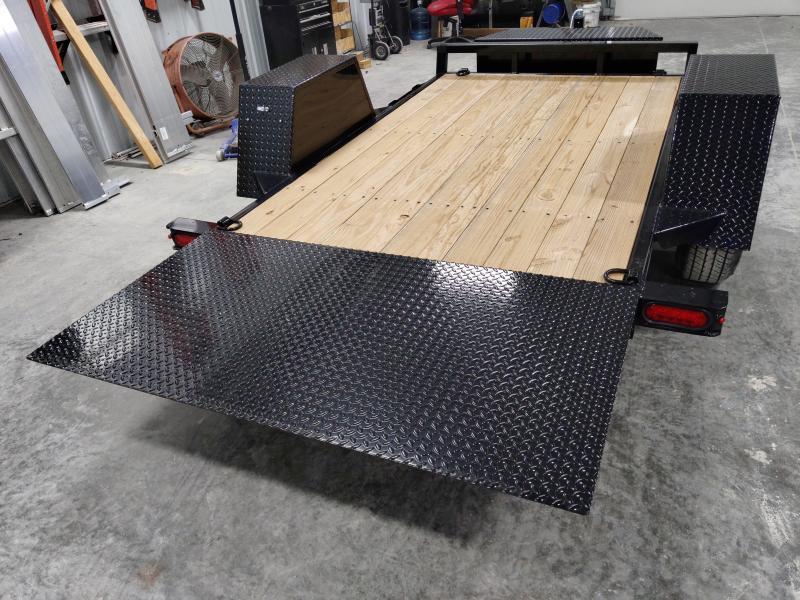 2020 Sure-Trac 62 IN x 10 Tilt Bed Equipment 6K