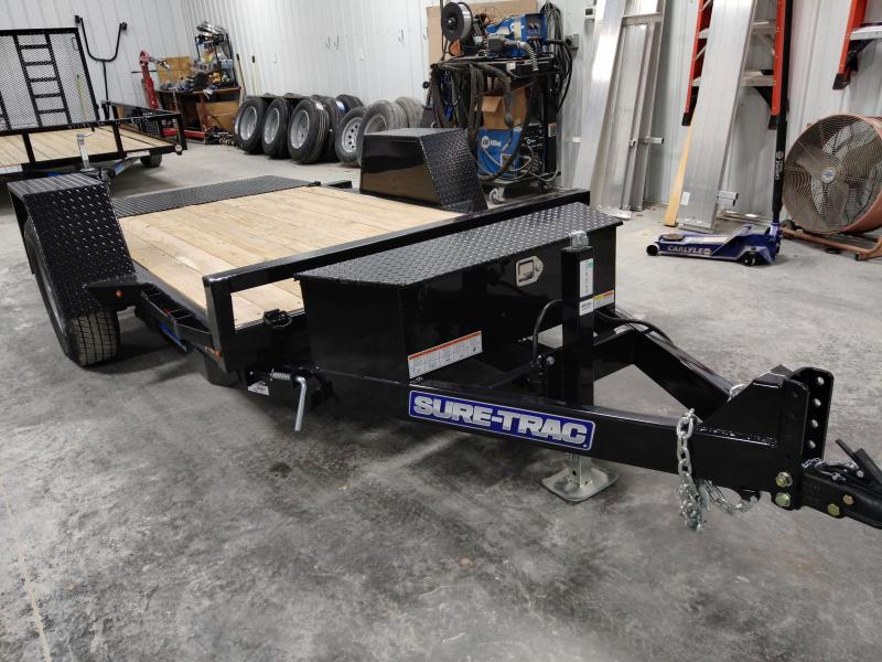 2020 Sure-Trac 62 IN x 10 Tilt Bed Equipment 6K