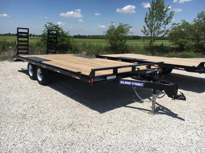 2018 Sure-Trac 8.5 X 17 + 3FT Beavertail Deckover 10k