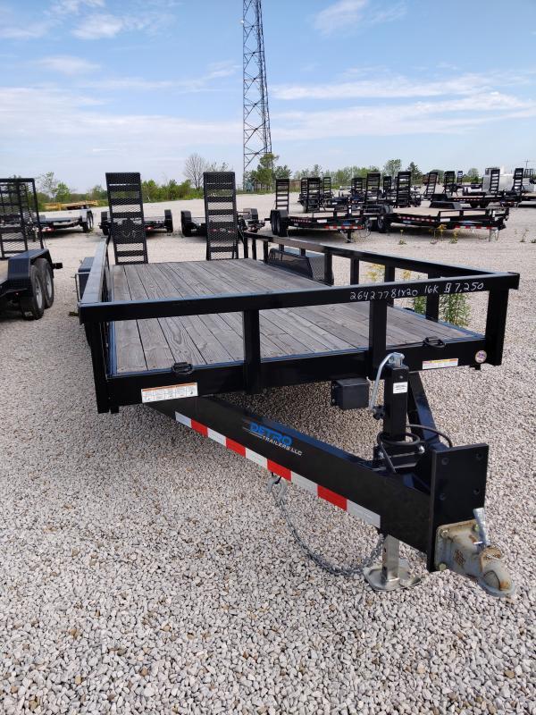 2019 Sure-Trac 7 x 20 16K Heavy Duty Equipment Trailer