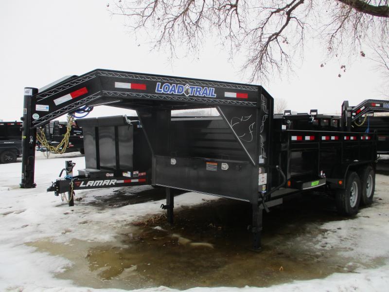 2020 Load Trail 83x14 Tandem Axle Gooseneck Dump Trailer