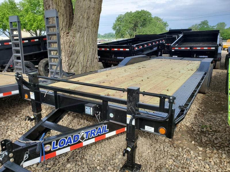 2020 Load Trail 102x24 Tandem Axle Carhauler Equipment Trailer