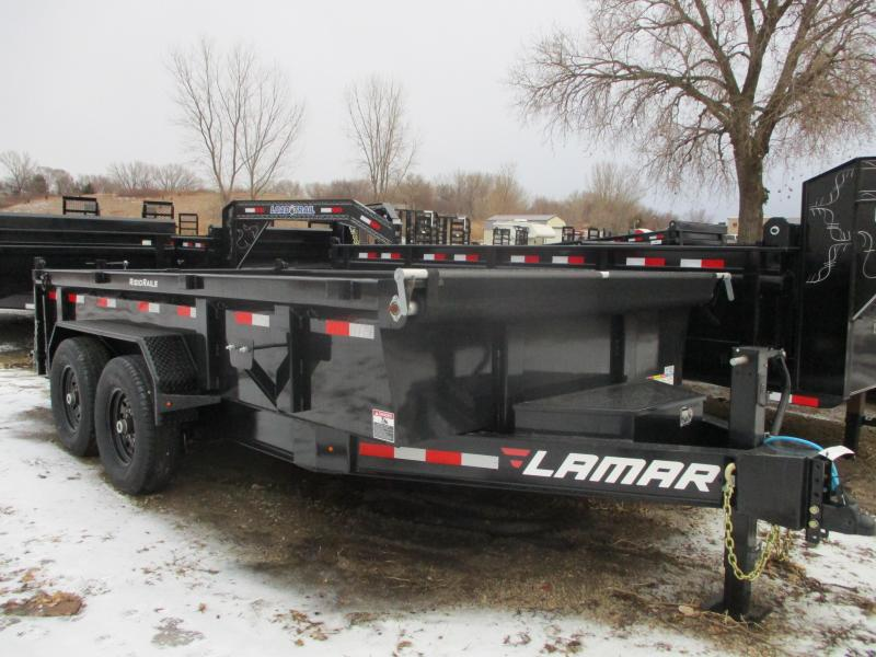 2020 Lamar Trailers 83x14 Tandem Axle Low Pro Dump Trailer