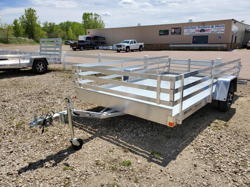 2020 Bear Track 82x12 Single Axle Aluminum Utility Trailer