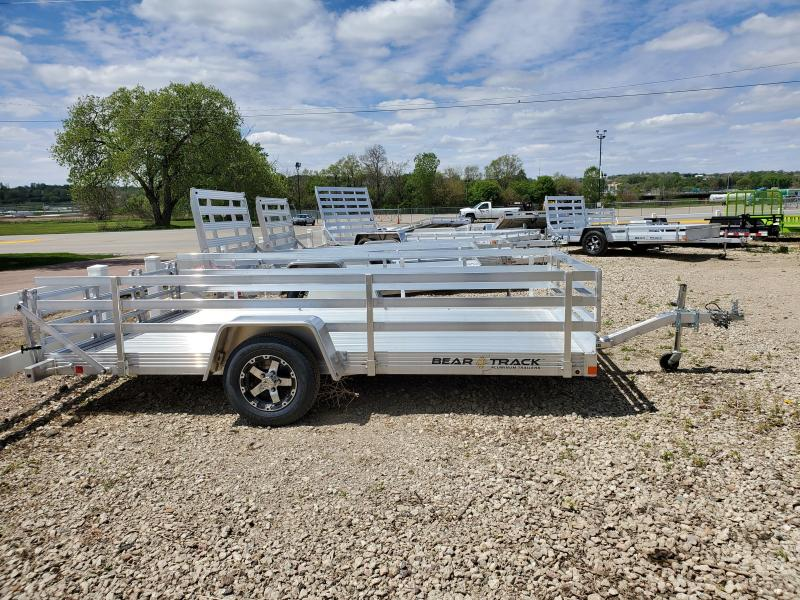 2020 Bear Track 82x12 Single Axle Aluminum Utility Trailer