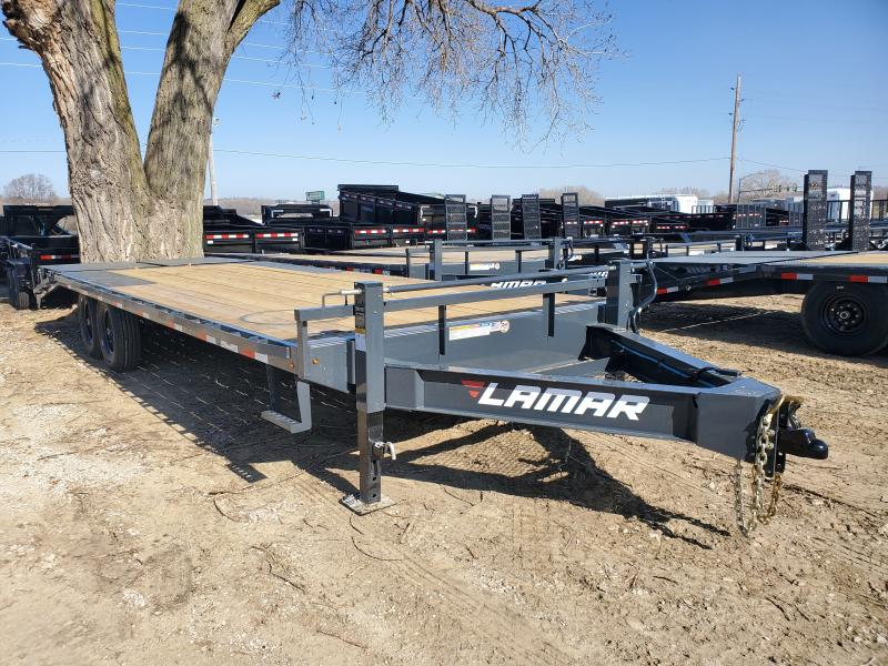2020 Lamar Trailers 102x24 Tandem Axle Deck Over Flatbed Trailer